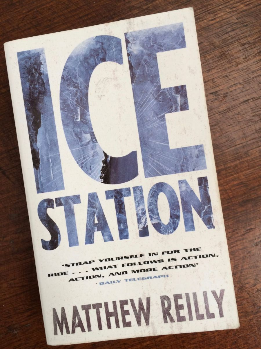 ice station by matthew reilly � review matters